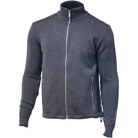 Ivanhoe of Sweden Assar Giacca con zip intera Uomo, graphite marl